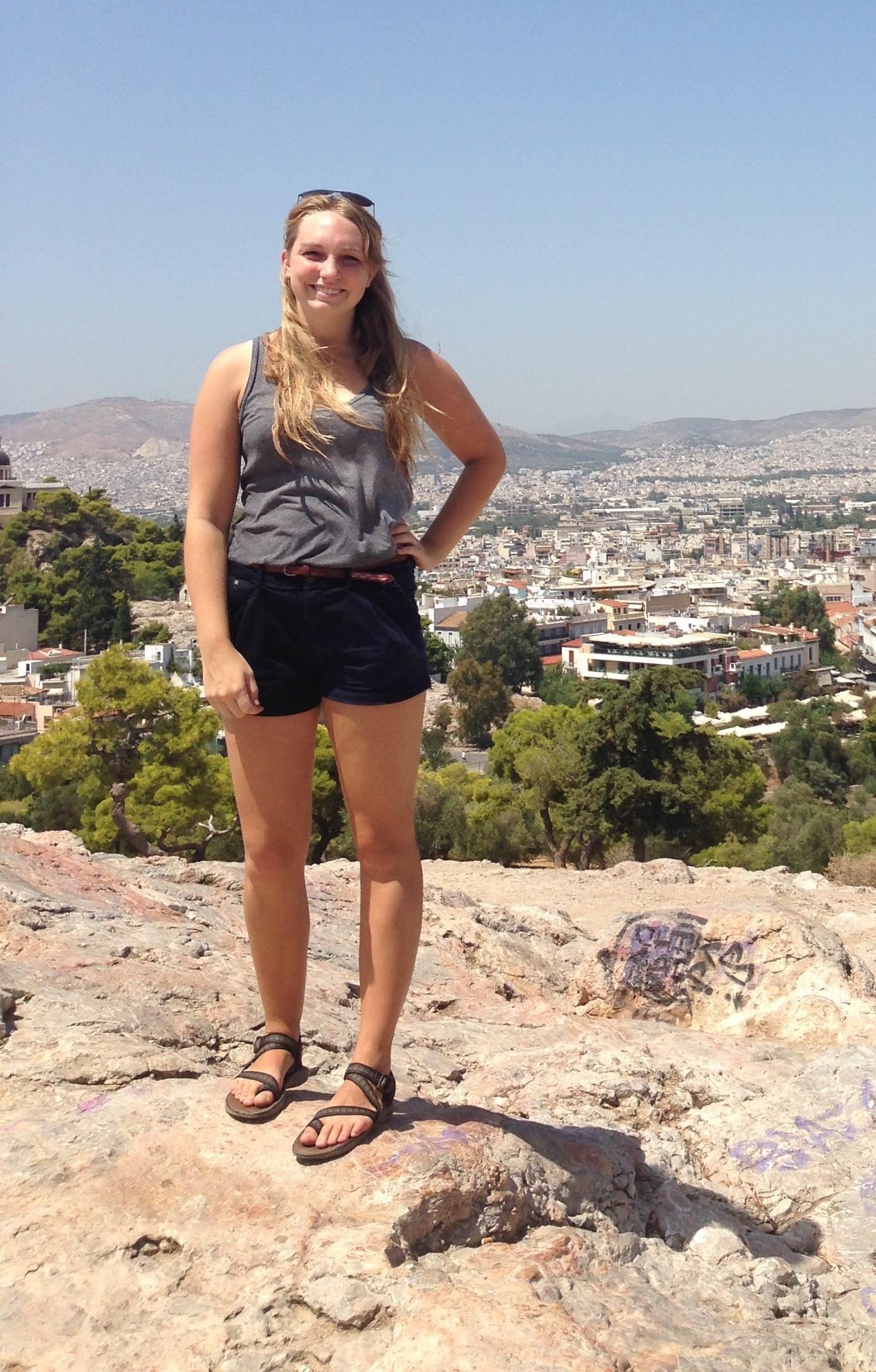 Natalie Riel, Scholar to Senegal