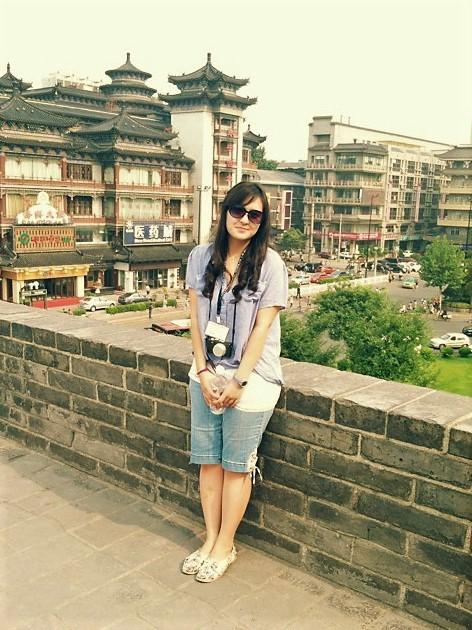 Jessica Franklin, Scholar to China